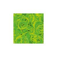 Резиночки  Неон микс (Желтый и зеленый), Rainbow Loom