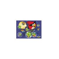 Папка для тетрадей  картонная на резинках А4  Angry Birds Centrum
