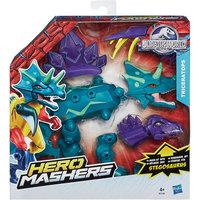Улучшенные разборные фигурки Динозавров Мира Юрского Периода, Hero Mashers Hasbro