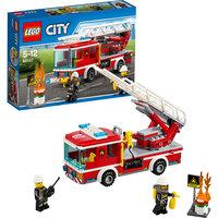 LEGO City 60107: Пожарный автомобиль с лестницей