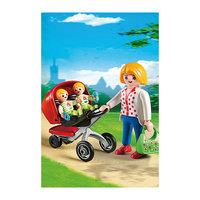 PLAYMOBIL 5573 Детский сад: Мама с близнецами в коляске Playmobil®