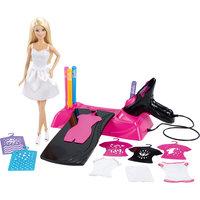Дизайн-студия для создания цветных нарядов, Barbie Mattel