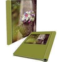 """Фотоальбом """"Корзина цветов"""" 22,5*28 см (20 листов) Феникс Презент"""