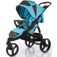Прогулочная коляска Jogger Cruze, Baby Care, синий
