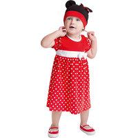 Комплект для девочки: боди и шапочка PlayToday