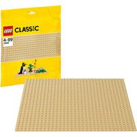 LEGO  10699: Строительная пластина желтого цвета