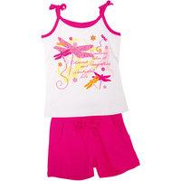 Комплект для девочки: футболка и шорты PlayToday