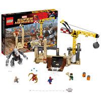 LEGO Super Heroes 76037: Носорог и Песочный человек против Супергероев