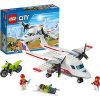 LEGO City 60116: Самолет скорой помощи