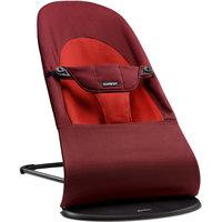 Кресло-шезлонг Balance Soft Organic, BabyBjorn, оранжевое