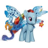 """Кукла """"Делюкс"""" Рейнбоу Дэш, с волшебными крыльями, My little Pony Hasbro"""