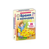 """Карточки-пазлы """"Время и календарь"""" Робинс"""