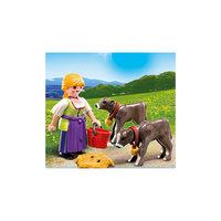 PLAYMOBIL 4778 Дополнение: Крестьянка с телятами Playmobil®