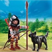 PLAYMOBIL 5408 Дополнение: Охотник с волком Playmobil®