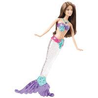 """Кукла """"Русалка-сверкающие огоньки"""", Barbie, в ассортименте Mattel"""