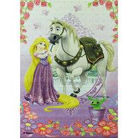 """Ковер """"Рапунцель и конь Максимус"""" 80*133 см, Принцессы Дисней ВЕНЕРА"""