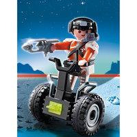 PLAYMOBIL  5296 Экстра-набор: Топ агент на гоночной машине Playmobil®