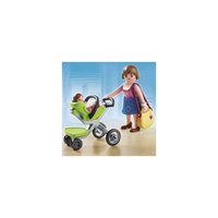PLAYMOBIL 5491 Торговый центр: Покупательница с ребенком в коляске Playmobil®
