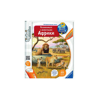 """Интерактивная книга """"Познакомься с животными Африки""""  (без ручки) Ravensburger"""