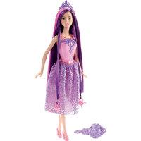 """Кукла """"Принцесса"""" с фиолетовыми волосами, Barbie Mattel"""