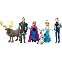 """Куклы - герои м/ф """"Холодное сердце"""" (Анна, Эльза, Олаф, Кристоф, Ханс, Свен), Принцессы Дисней Mattel"""