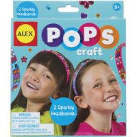 """Набор для творчества POPS CRAFT """"Два блестящих ободка со стразами"""" Alex"""
