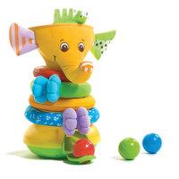 """Музыкальная пирамидка с шариками """"Слоник"""" (новый дизайн), Tiny Love"""