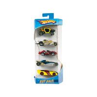 Hot Wheels Подарочный набор из 5 машинок Mattel
