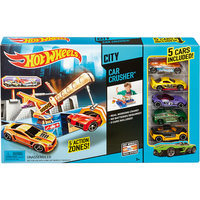 Трек Car crusher, Hot Wheels Mattel