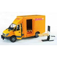 Фургон DHL с погрузчиком,  Bruder