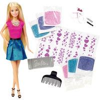 """Игровой набор """"Блестящие волосы"""", Barbie Mattel"""