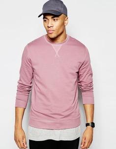 Розовый свитшот ASOS - Розовый