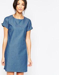 Джинсовое платье-туника Sugarhill Boutique - Синий