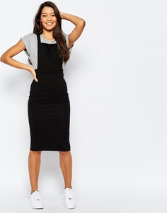 Платье-сарафан миди ASOS - Черный