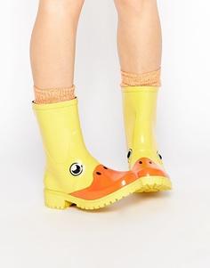 Короткие резиновые сапоги JuJu x Kigu Duck - Duck