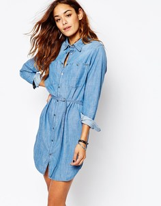 Джинсовое платье-рубашка G Star Remi - Синий