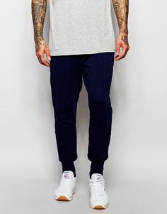 Синие штаны для бега скинни Reebok AK0488 - Синий
