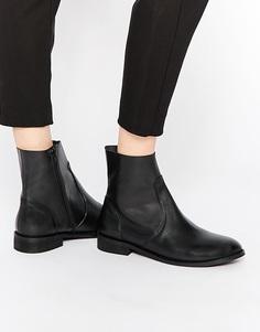 Кожаные ботинки челси ASOS ALOUD - Черный