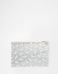 Сумочка с принтом единорога и блестками Skinnydip - Блестящий с единорогами