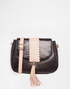 Кожаная сумка-седло Urbancode