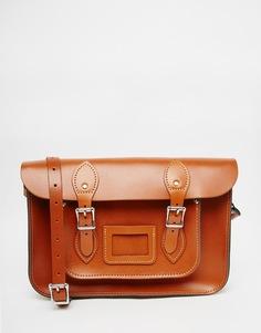 Сумка сатчел The Leather Satchel Company - Рыжий