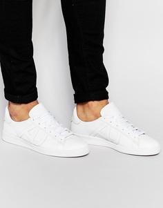 Кроссовки с логотипом Armani Jeans - Белый