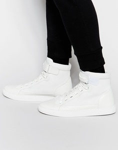 Высокие кроссовки Armani Jeans - Белый