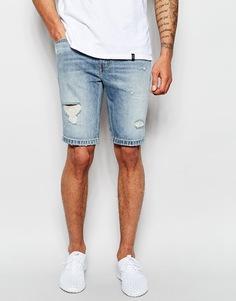 Темные джинсовые шорты слим с потертостями Levi's 511 - Sunset junction Levi's®