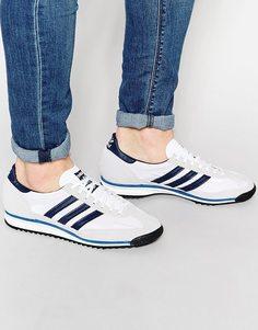 Кроссовки adidas Originals SL 72 S78999 - Белый