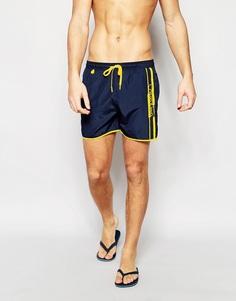 Шорты для плавания средней длины Calvin Klein - Темно-синий