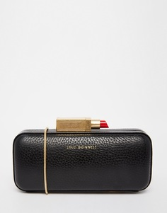 Клатч с застежкой в виде губ Lulu Guinness Carrie - Черный