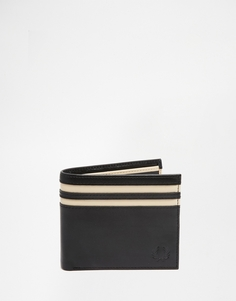 Бумажник с контрастной отделкой Fred Perry - Черный