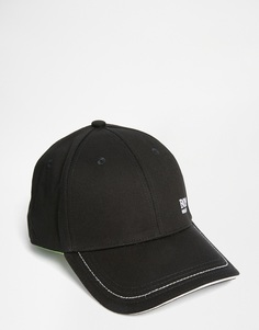 Бейсболка с логотипом Hugo Boss - Черный