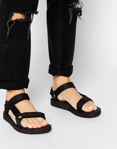 Черные сандалии Teva Original Universal - Черный